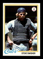 1978 Topps #252 Steve Swisher DP NM/NM+ X1048835