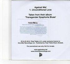 (FB305) Against Me! Unconditional Love - 2013 DJ CD