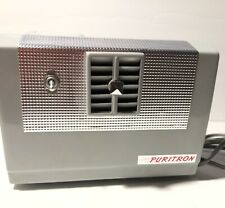 Vintage 1950's Puritron Uv Bulb Air Filter Purifier Model F-20 Preowned