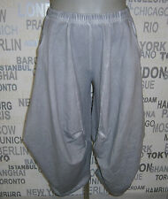 Barbara Speer: Lagenlook Ballon-Hose silber Old Look EG one size EG