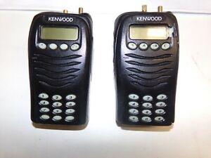 TWO  Kenwood TK-3170-K4 440-480 MHz UHF Full Keypad Two Way Radio TK-3170