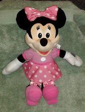 "Rare MINNIE MOUSE Musical Singing Plush Doll (13"") ~ Mattel"