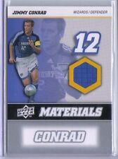 Jimmy Conrad 2008 08 Upper Deck UD MLS Materials Game Used Jersey #MM-13 Wizards