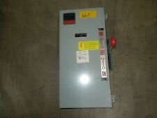 Eaton DT362UDK 60A 3P 600VAC Double Throw Not Fusible Manual Transfer Switch