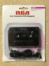 Rca Cassette Adapter 3.5mm Audio to Car Stereo Ah600 iPhone iPod Mp3