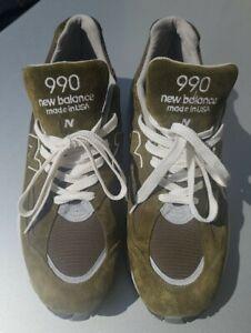 New Balance 990v2  M990DKGN US Men's Size 13 Made In USA Dark Green Rare