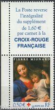 Y&T n° 3620 avec vignette Croix Rouge  2003 NEUF **