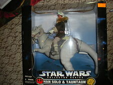 "Kenner STAR WARS Collector Series Han Solo & Tauntaun Action Figure - 17"" TALL!!"