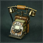 * !New European Style Fashion Old Camera Resin Retro Dial Telephone