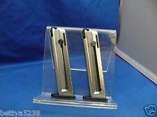TWO Colt Magazine 1911 22 LR 10 Round 22LR UMAREX WALTHER 517604 22 CLIP MAG