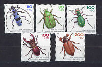 ALEMANIA/RFA WEST GERMANY 1993 MNH SC.B745/B749 Beetles