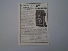 advertising Pubblicità 1934 WELTA REFLEX PERFEKTA