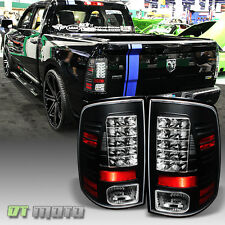 2009-2017 Dodge Ram 1500 2500 3500 Philip Lumiled LED Black Tail Lights Lamps