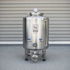 Brite Tank Ss Brewing Technologies 10 Gallon Stainless Steel Beer Keg Homebrew
