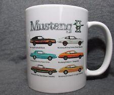 1978 Ford Mustang II Line Coffee Cup, Mug - New - 70's Classic - Sharp!