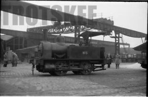 35mm Negative Dallam Forge Warrington Industrial Steam Loco No.5 1958 2