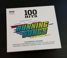 5 DISC CD ALBUM - 100 HITS - RUNNING SONGS - 100 WORKOUT ANTHEMS