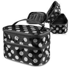Neceseres, cajas y maletines de maquillaje en negro sin marca