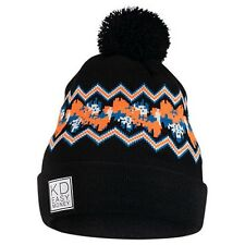 Brand New with Tags Adult unisex Nike KD Beanie Black/ Photo Blue/ Bright Citrus