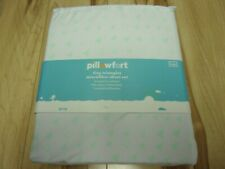 Pillowfort Microfiber Twin Sheet Set Tiny Triangles