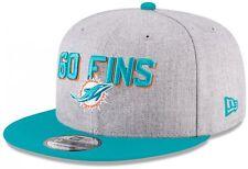 New Era - NFL Miami Dolphins Draft 2018 On Stage 9Fifty Snapback Cap - Grau-Türk