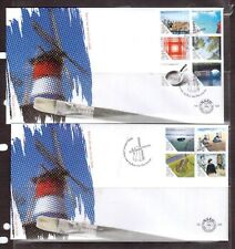 NETHERLANDS 2006 set on two FDC