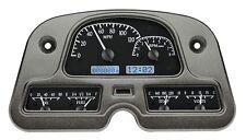 1962-84 Toyota Land Cruiser Dakota Digital Black Alloy White VHX Gauge Dash Kit