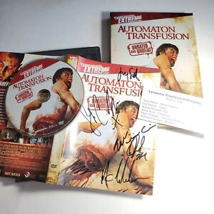 Automaton Transfusion DVD Signed By Cast X6