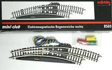 Märklin 8569 Z - elek. Bogenweiche rechts r195 mm NEU & OVP