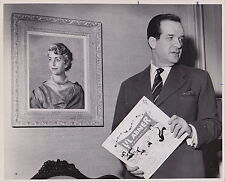 AL CAPP Cartoonist Artist Humorist * ICONIC Classic Rare1959 photo