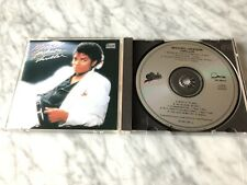 Michael Jackson Thriller CD MADE IN JAPAN Original 1982 EPIC EK 38112 VERY RARE!
