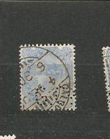Perfins Perfin India Postage  Queen Victoria Briefmarken Sellos Timbres