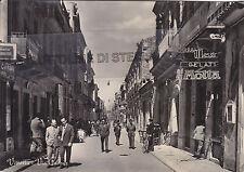 CARTOLINA SICILIA RAGUSA- VITTORIA, VIA CAVOUR -V 1957-