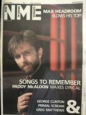 NME August 3r1985 Prefab Sprout Primal Scream Bodines Clinton Nico Beat Farmers