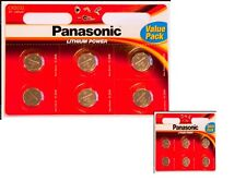 10 x Panasonic CR2032 3V Lithium Coin Cell Battery 2032
