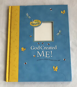 Little Blessings God Created Me Memory Book Babies First Year 2002 In Box
