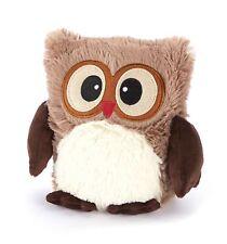 Intelex Warmies Hooty Owl Brown Microwavable Plush Bedtime Warmer Teddy Heatable