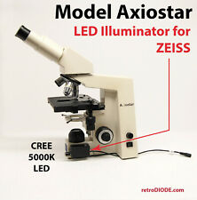 LED retrofit Kit with dimmer control for older ZEISS AXIOSTAR  microscopes.