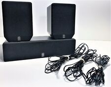 YAMAHA NX-E270 SURROUND SPEAKERS PAIR + NX-E270 CENTRE SPEAKER | SPEAKER WIRE
