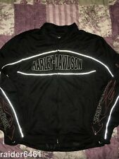 Harley Davidson Ride Ready Mesh Functional Jacket Men's XL H-D  98304-10VM EUC
