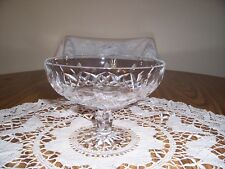 WATERFORD CRYSTAL CUT GLASS COMPOTE