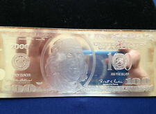2000 Commemorative $100 Federal Reserve Note Proof Silver Art Bar P2575