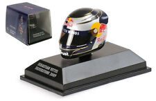 Minichamps Arai Helmet Silverstone British GP 2009 - Sebastian Vettel 1/8 Scale