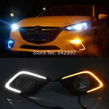 Exact Fit Mazda3 Axela 2014-up Switchback LED Daytime Running Lights Turn Signal