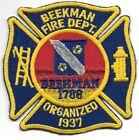 """Beekman  Fire Dept. - 1788, New York (3.5"""" x 3.5"""" size) fire patch"""