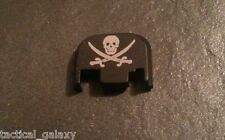 Fits Glock JOLLY ROGER NAVY SEAL Slide end Plate Cover Fits all Glock 17-39