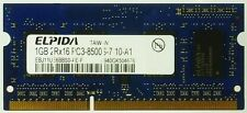 Elpida Computer-DDR3 SDRAMs mit 1GB Kapazität