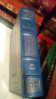 THE FOUNTAINHEAD by Ayn Rand Easton Press Leather - GREAT BOOKS 20TH CENT - RARE