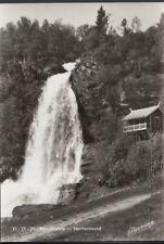 Norway Postcard - Steindalsfoss - Norheimsund     RR3429
