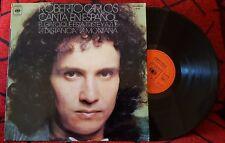 ROBERTO CARLOS ** El Gato Que Esta Triste Y Azul ** Spain 1973 LP (Discolibro)